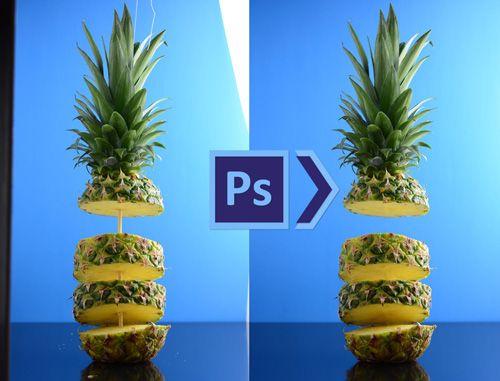 طريقة إزالة الاجزاء الغير مرغوب فيها من الصور بإستخدام برنامج الفوتوشوب Planter Pots Fruit Pineapple