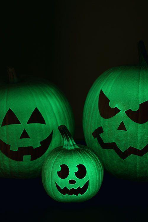 Glass Crackled Gems Pumpkin Faces Painted Pumpkins Pumpkin