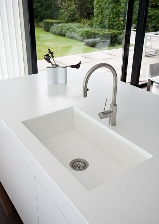 36 The True Meaning Of Undermount Kitchen Sinks 191 Prekhome White Kitchen Sink Kitchen Sink Design Kitchen Sink Remodel