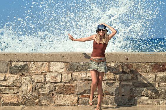 #kroatien Ein vergnüglicher Tag am Strand Sv. Ivan bei #umag #croatia #hrvatska #croazia #svivan #istra #istrien #lilinova #ootd