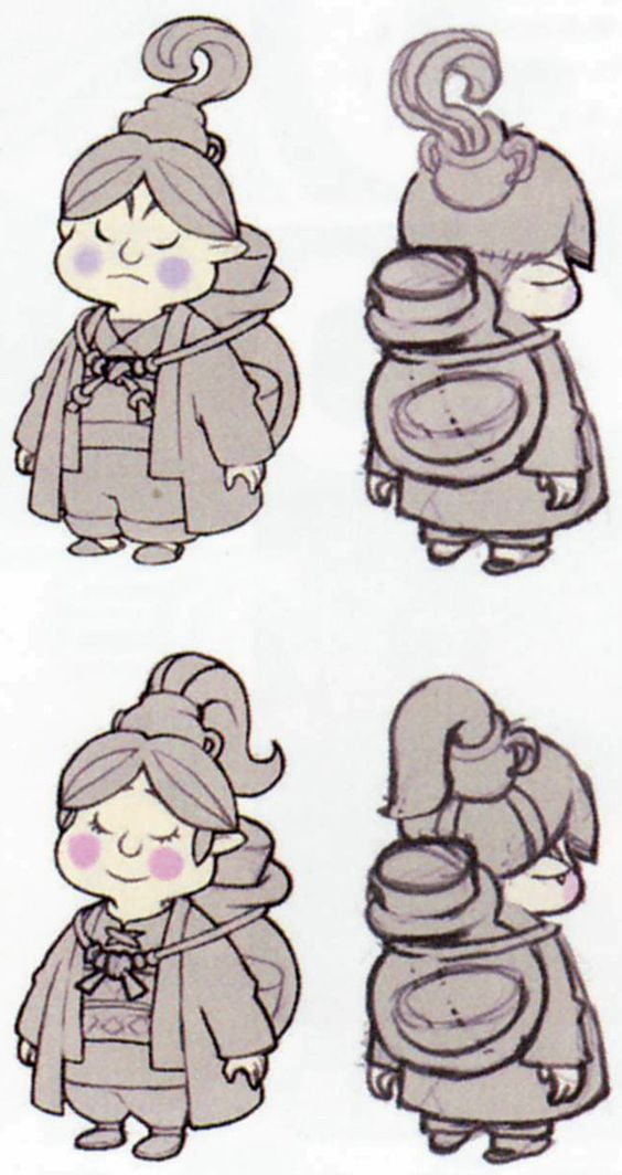Character Design Challenge Zelda : The legend of zelda skyward sword inspirational