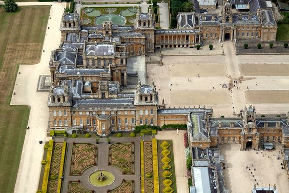 Blenheim Palace - Woodstock, Oxfordshire, England: