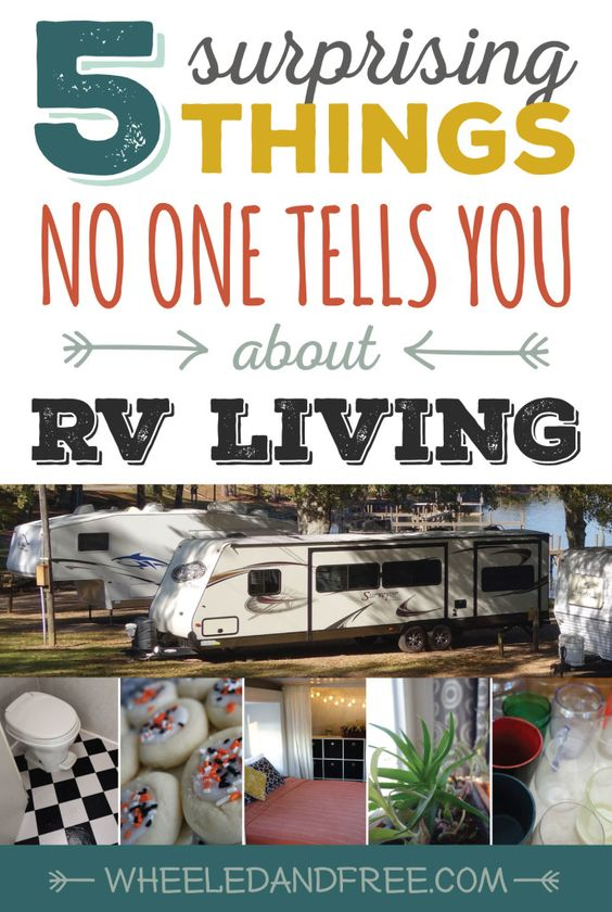 Rv Living Tips 5 Things That May Surprise You About Life