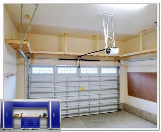 Garage Storage Lockable And High Ceiling Garage Storage Ideas