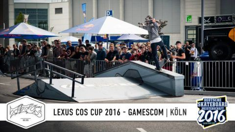 LEXUS COS Cup 2016 – Gamescom | Köln: Follow us now at http://www.facebook.com/titus |… #Skatevideos #2016 #Gamescom #Köln #Lexus