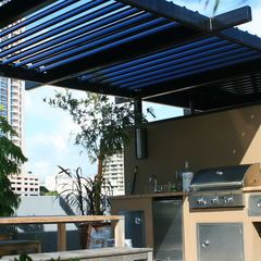 Tropical Patio By Ecoshade Patio Roofs General