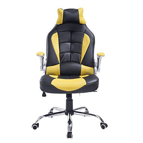 Homcom High Back Racing Style Ergonomic Gaming Chair With Armrest