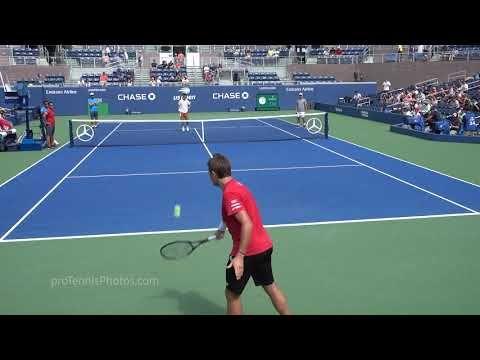Wawrinka V Nishikori 2018 Us Open Practice 4k Youtube In 2020 Us Open Tennis Tournaments Practice