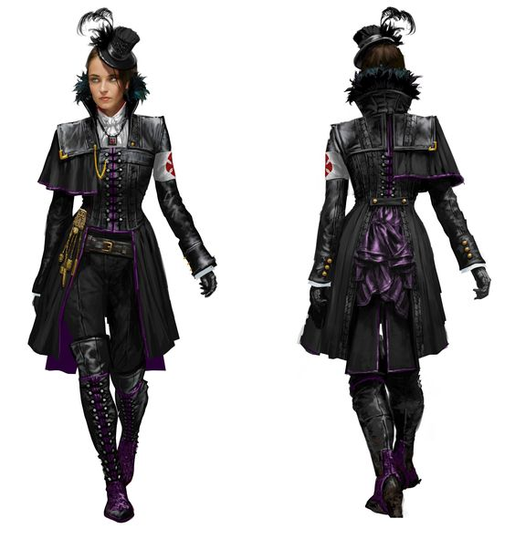 Lucy Thorne - AC:Syndicate (Rear View)