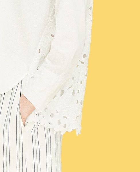 Ann Taylor's Floral Back Button Down – #AT3Ways