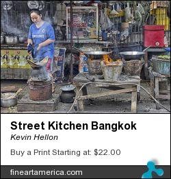 HellonEarth - Photoblog: Prints for sale - Street Kitchen Bangkok