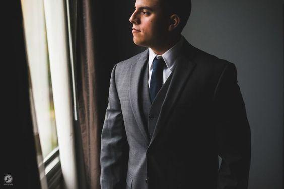 New York Falkirk Estate Wedding, groom prep, suit