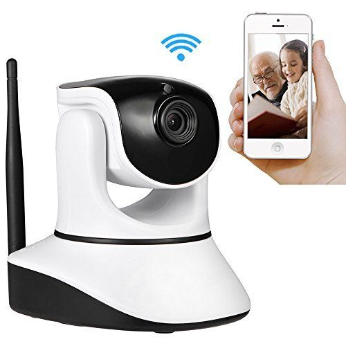 Hrwi Wireless Security Camera 720p Hd Home Wifi Wireless Security Surveillance Camera With Motion Detection Pan Tilt Wifi Security Ip Camera With Ios Android A