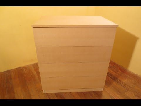 Como hacer una comoda cajonera de mdf facil for the home - Como hacer muebles ...