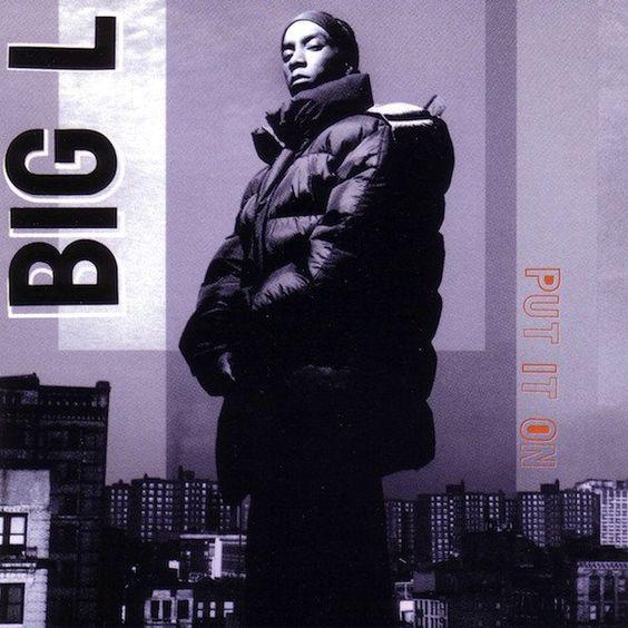 Big L, Kid Capri – Put It On (single cover art)