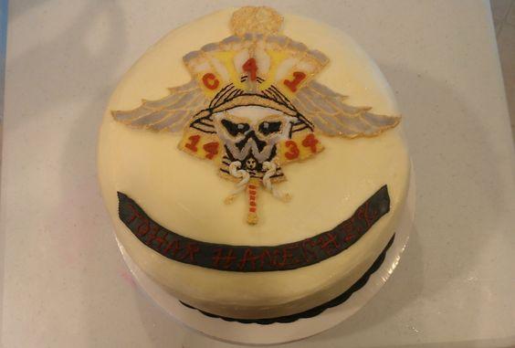 Gallery >> Army team emblem ball cake
