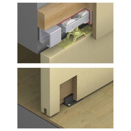 Hawa Junior 120 A Sliding Wood Door Kit 14860 Heavy Duty Sliding Doors Sliding Wood Doors Sliding Door Systems