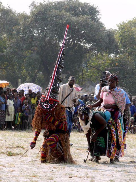 Africa | Likumbi Lya Mize Ceremony. Luvale people of Northwestern Zambia | ©Miranda Rashid
