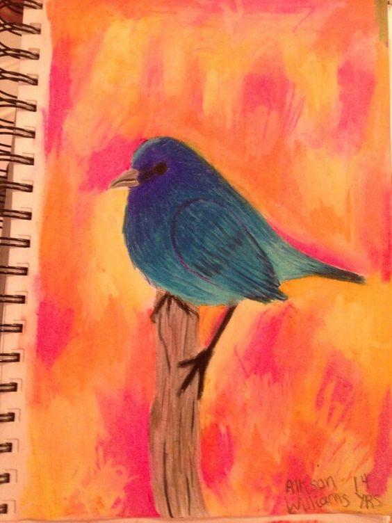 Autumn Birds- Allison Williams- age 14