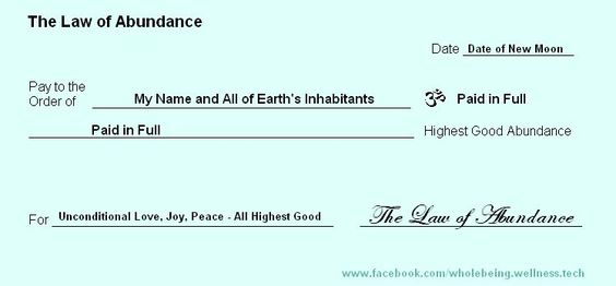 Dowsing to change your life: Abundance Check Ritual in the New Moon.