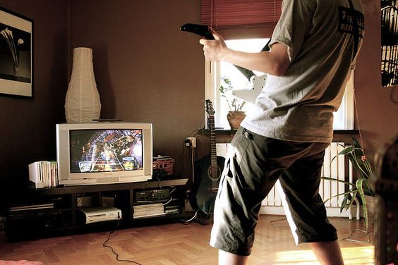After a hard days work my brother and I retreated to my flat and played some Guitar Hero II.       Video Game Systems  Information.