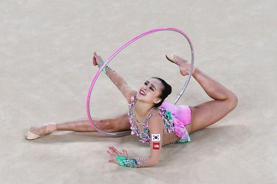 Olympic Games, Individual all-around: 4. Yeon Jae Son (Korea) - 72.898