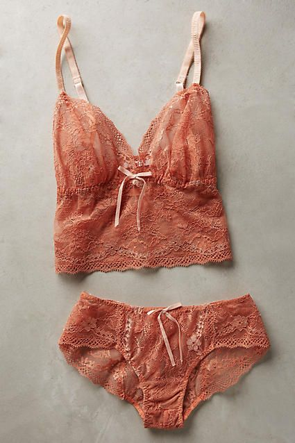 Vienna Lace Hipsters - anthropologie.com