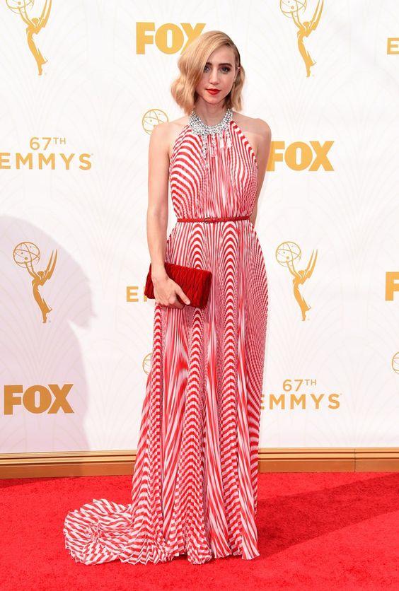 Pin for Later: Toutes les Plus Belles Tenues Vues sur le Tapis Rouge des Emmy Awards Zoe Kazan