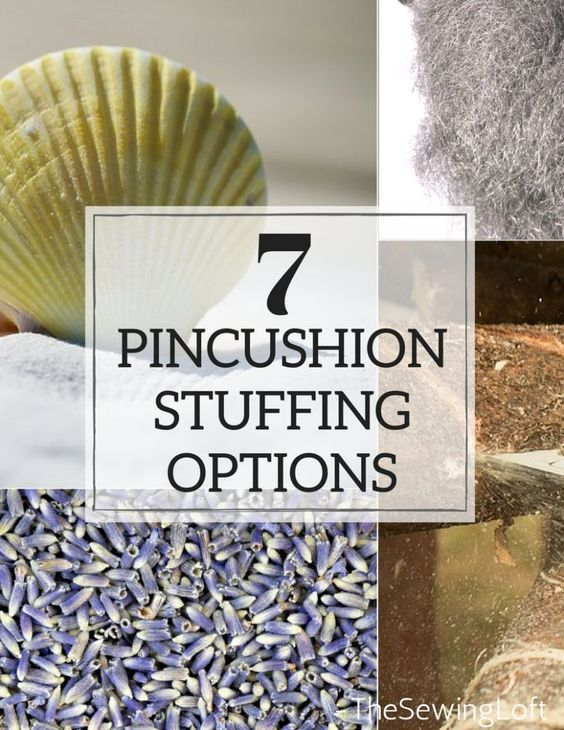 Did you know that many different types of fillers can be used to create pincushions? Check out your options and learn the reasons why to use in your sewing.