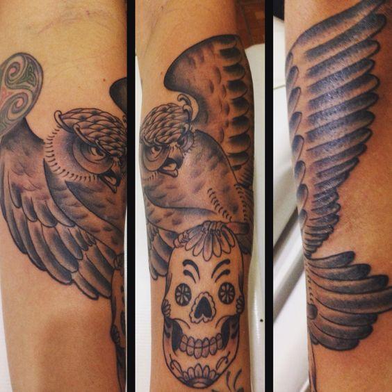 Tattoo coruja