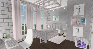 Bloxburg Builds Bloxburgbuilds Twitter Luxury House Plans Aesthetic Bedroom House Design Kitchen