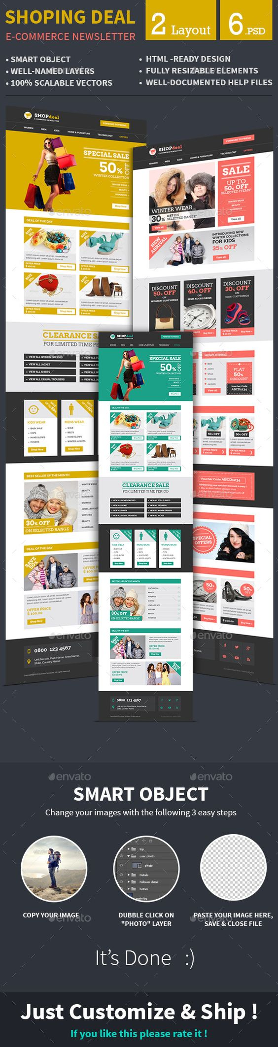e commerce special offer email template ecommerce email e commerce special offer email template psd here