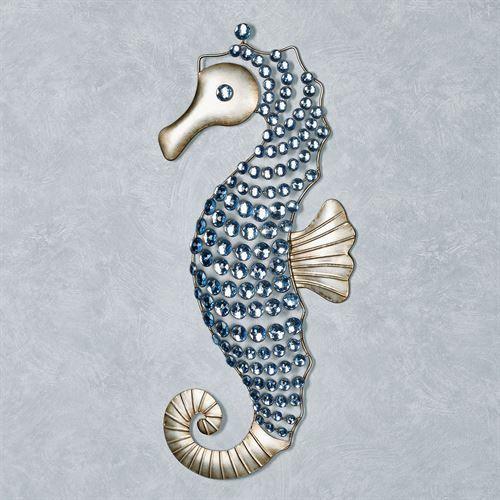 Seahorse Gems Metal Wall Art In 2020 Wall Sculpture Art Metal Wall Art Seahorse Wall Art