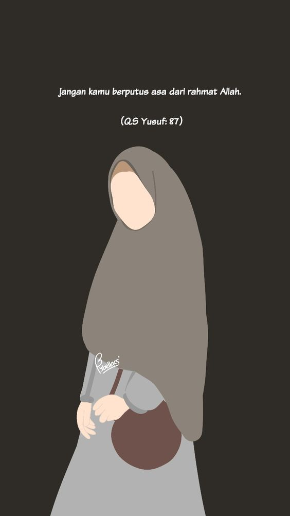 Kumpulan Gambar Kartun Muslimah 35