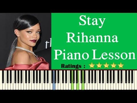 Stay Rihanna Piano Lesson Chords How To Play Stay By Rihanna