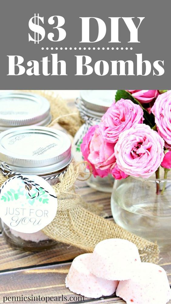 how to make your own natural bath bombs