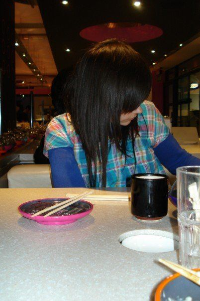Loved this hair when it grew out.. great random lengths
