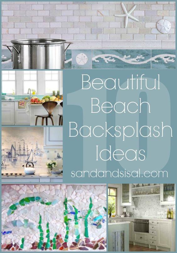 Backsplash Ideas Beaches And Kitchens On Pinterest