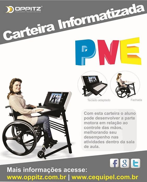 Carteira Informatizada PNE Oppitz  http://www.oppitztec.com/news/cequipel-launches-computerized-portfolio-for-people-with-disabilities