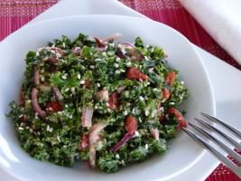 Raw Food Recipe: Ginger Kale Salad