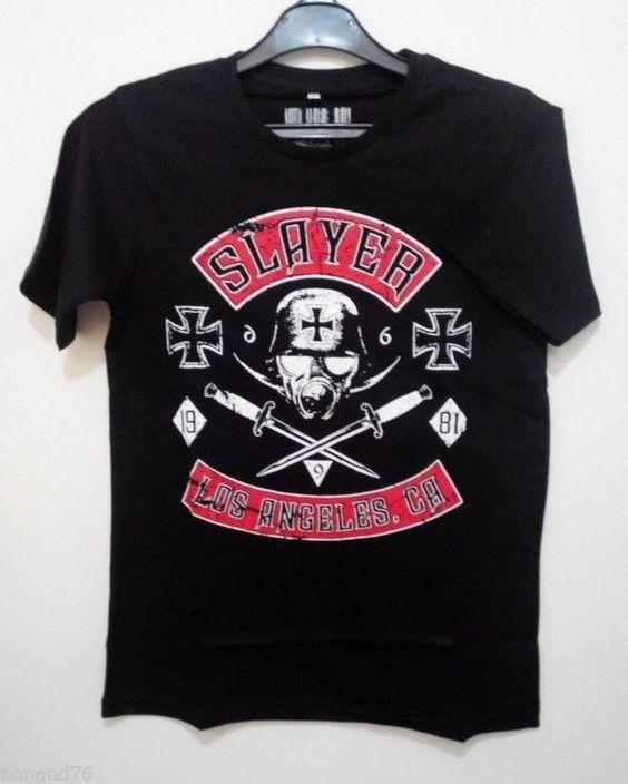 $7,- Slayer Hardcore T-Shirt (Cheap) Size XL Asian #Crophead #BasicTee