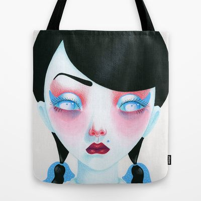 Buy Vampire Girl by Madelen Foss as a high quality Tote Bag. Worldwide shipping available at Society6.com. Just one of millions of products available.