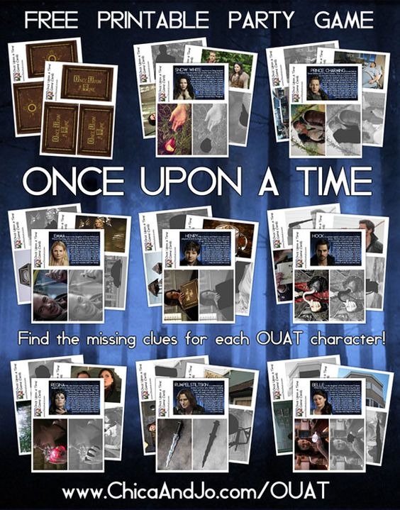 Once Upon a Time Party Game