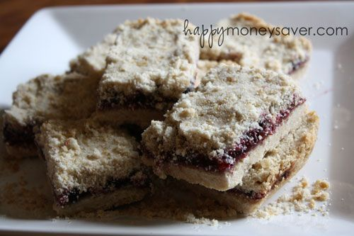 Blueberry Bars.  5 ingredients.  Looks easy and delicious.