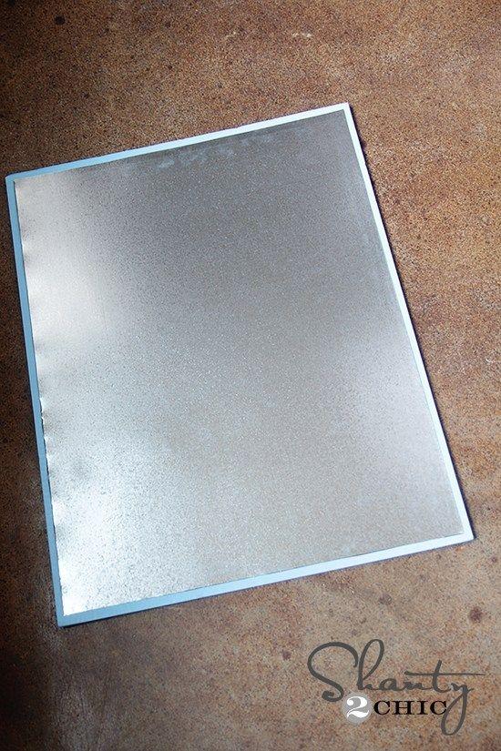 Magnetic Board Diy Diy Magnets Sheet Metal Art Galvanized Sheet Metal