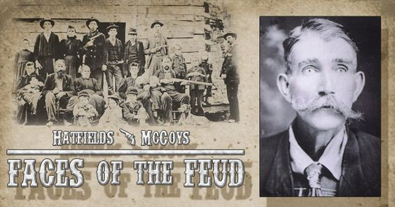 """""""Big Sam"""" or """"Squirrel-Hunting Sam"""" McCoy played a key role in the escalation of the violence of the Hatfield and McCoy Feud"""