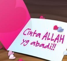 Jika Benar Cintaku Karena Allah... ~ ANTI ASAP
