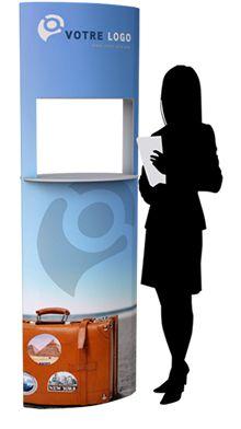 TOTEM PORTE-PRODUIT | PLV Carton | PLV STAND Broker