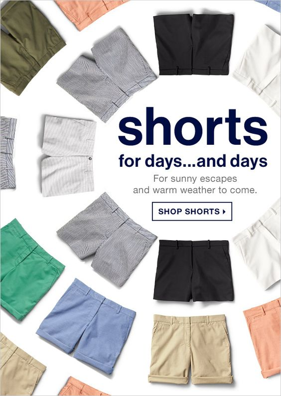 shorts for days...and days | SHOP SHORTS