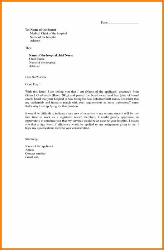 Letter Of Application Sample Lettering Application Letters